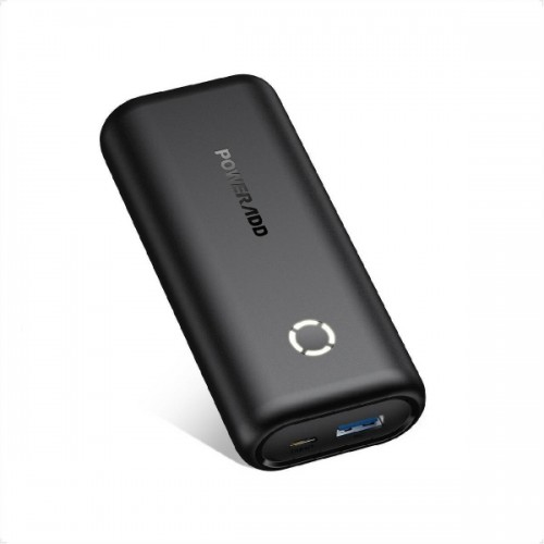 POWERADD EnergyCell 10000mAh Power Bank Φορητή Μπαταρία - Black (PD-MP1038BK)