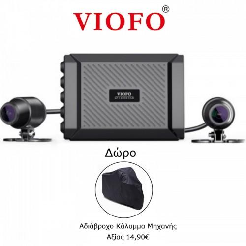 Viofo MT1 Διπλή Κάμερα Μοτοσυκλέτας 1080P (HD/mSD/Bluetooth/Wi-Fi/Sony Sensor)