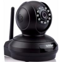 Sricam SP019 Wifi/IP Camera (Ρομποτική/Νυχτερινή Λήψη/SD) (Μαύρη)