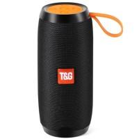 Φορητό ηχείο T&G TG106 Bluetooth με ενσωματωμένο μικρόφωνο-Μαύρο