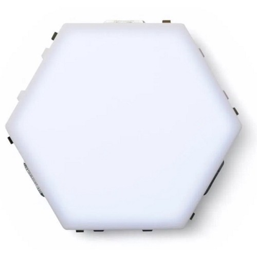 Led Μαγνητικό Επιτοίχιο Φωτιστικό Αφής – Quantum White LED Hexagonal 6500k σετ 5 τεμαχίων