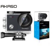 AKASO Action Cam V50X (2'' οθόνη-4K/30fps-20MP-Wifi-2 μπαταρίες)