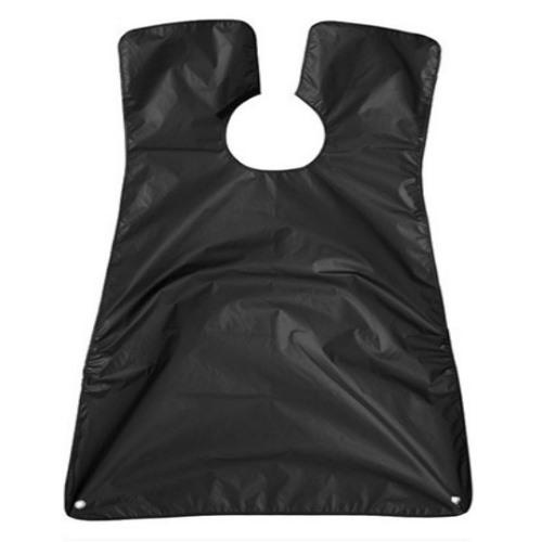 Μπέρτα Κουρέματος και Ξυρίσματος Γενιών 80x130cm με βεντούζες (Μαύρο)