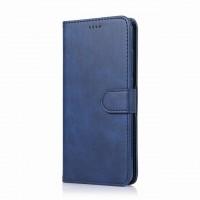 Δερμάτινη Θήκη Πορτοφόλι με Βάση Στήριξης για Xiaomi Redmi 8A - Μπλε