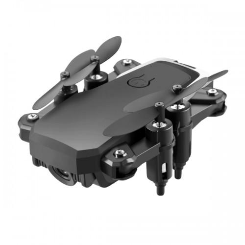 Fold Drone lf606 Αναδιπλούμενο Mini Drone Quadcopter 4K HD  με ενσωματωμένη κάμερα (Μαύρο)