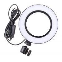 Επαγγελματικό Φωτογραφικό Φωτιστικό Δαχτυλίδι Ring Lamp Light LED USB 16cm (3 Χρώματα Φωτισμού/ Dimmer)