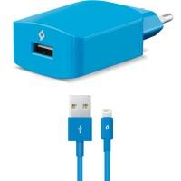 TTEC SpeedCharger Ταχυφορτιστής Ταξιδιού και καλώδιο Για Apple (lightning) Μπλε