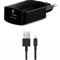 TTEC SpeedCharger Ταχυφορτιστής Ταξιδιού και καλώδιο Για Apple (lightning) 2SCS01L Μαύρο