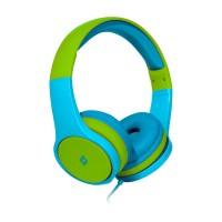 TTEC Bubbles Kids Παιδικά Ακουστικά Κεφαλής Blue-Green
