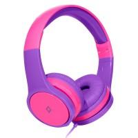 TTEC Bubbles Kids Παιδικά Ακουστικά Κεφαλής Pink-Purple