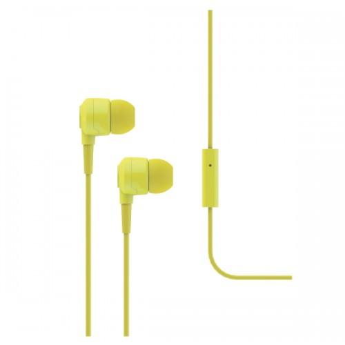 TTEC J10 Ακουστικά & Handsfree Yellow