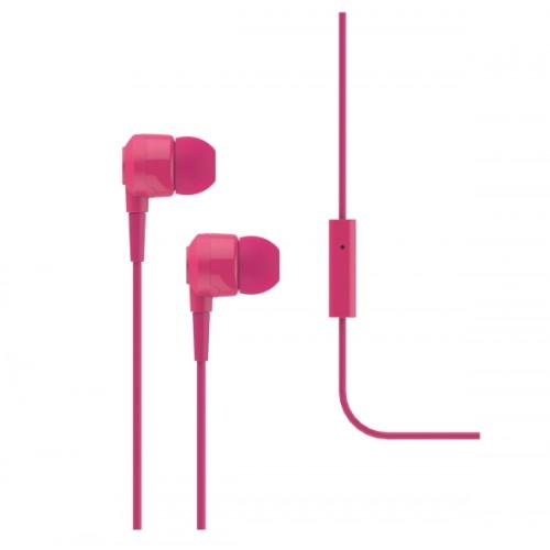 TTEC J10 Ακουστικά & Handsfree Pink