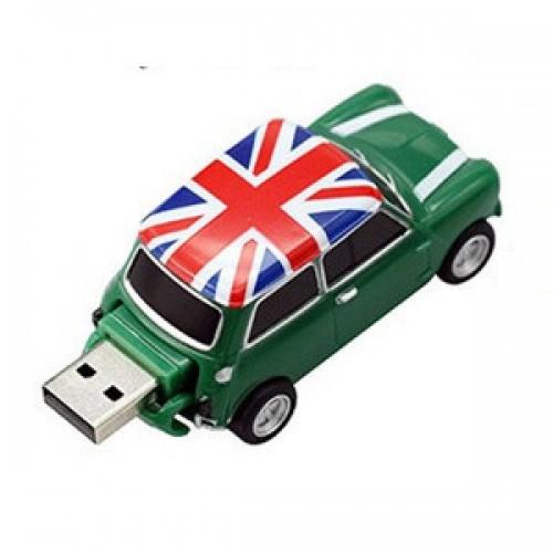 Μινι Κούπερ USB Flash 8GB (Πράσινο)