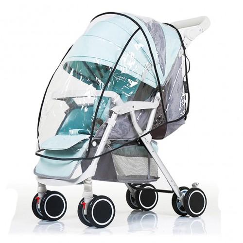 FASOTY Rain Cover - Αδιάβροχο κάλυμμα για καροτσάκι μωρού (Small/Large)