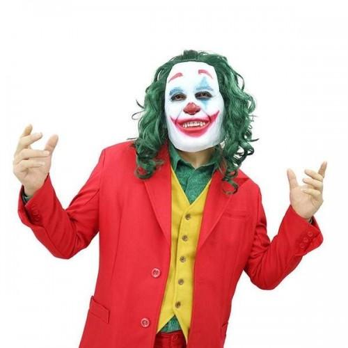 Μάσκα Joker Γελωτοποιός Άρθουρ  για Απόκριες/Halloween/Cosplay 136284
