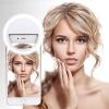 Selfie Ring Light Επαναφορτιζόμενο LED 5600K για Selfie RK-12 (Pink)