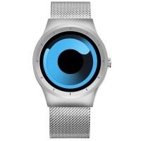 Skone Oldbury 7432 Ρολόι Χειρός (Silver Blue)