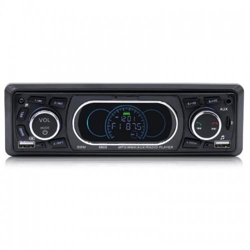 Docooler SWM-8809 Ηχοσύστημα αυτοκινήτου (Bluetooth/MP3/2 θύρες USB/Τηλεχειριστήριο)
