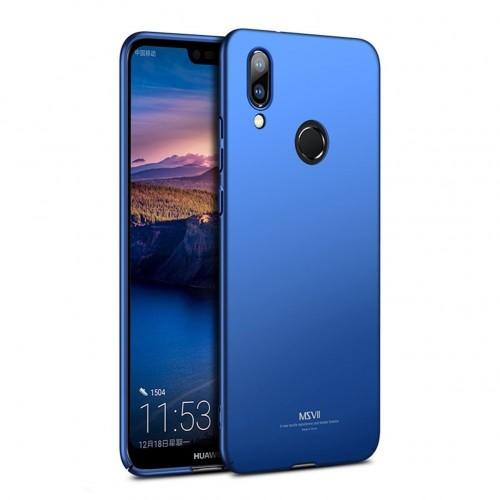 MSVII Ματ Backcover Θήκη (Huawei P20 Lite) ( Μπλε)