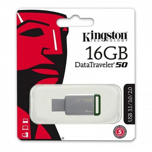 Kingston DataTraveler 50 USB 3.0 Drive 16GB | DT50/16GB