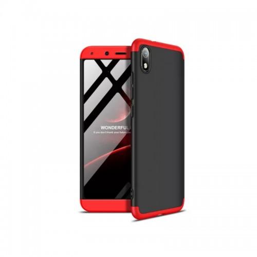 GKK 360 Full Cover Μαύρο/Κόκκινο (Xiaomi Redmi 7A)