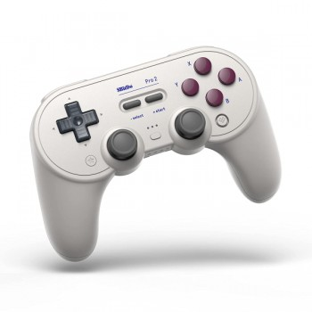 8Bitdo Pro 2 Gamepad G Classic Edition - Bluetooth and Type C - Nintendo Switch/PC/MAC/Android/Raspberry