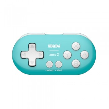 8Bitdo Zero 2 Controller Turquoise
