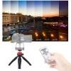 Puluz PU361R Μίνι τρίποδας με κεφαλή 360° για Smartphones, Action και DSLR κάμερες (Κόκκινο)