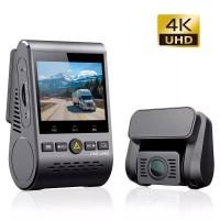 "VIOFO A129 PRO DUO ULTRA 4K Διπλή Κάμερα DVR Αυτοκινήτου με GPS 1080P και LCD 2"""