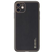 Dux Ducis Yolo Series Δερμάτινη θήκη για iPhone 11 (Μαύρο)