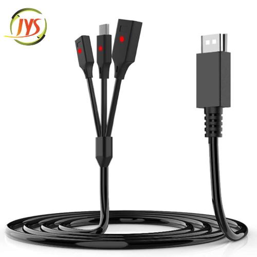 JYS-NS190 Τριπλό Καλώδιο Type-C/Charging/Power Data για Nintendo Switch Joy-Con