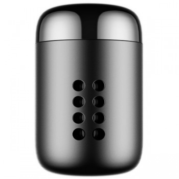 BASEUS αρωματικό αυτοκινήτου SUXUN-PD01 μεταλλικό-5 ανταλλακτικά-Μαύρο
