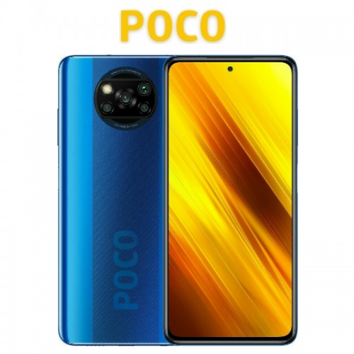 Poco X3 NFC Global (Snapdragon 732G/120Hz/4πλή Κάμερα 64MP/5160mAh/6GB-128GB) Cobalt Blue