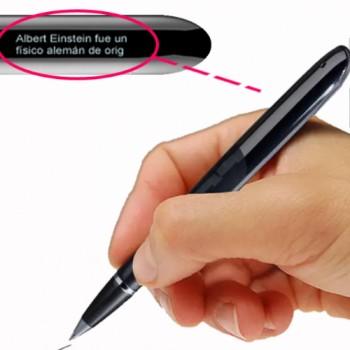 RXO Cheating Pen Δεξιόχειρα (Ανάγνωση Εγγράφων/Σκοτεινή Οθόνη/Emergency Button/PDF, WORD, TXT) 8GB