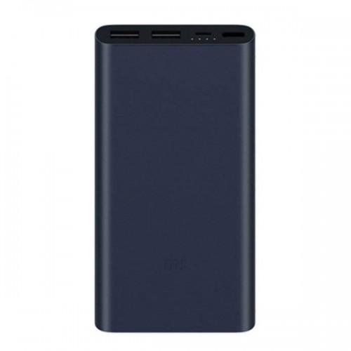 XiaoMi Power Bank 2 PLM09ZM (10000mAh)  για Smartphone - Φορητή Μπαταρία (Black)