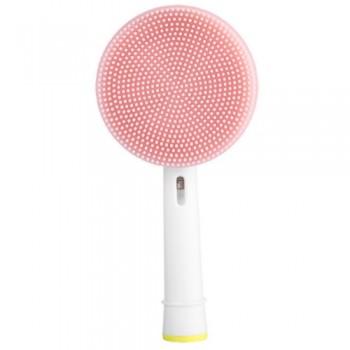 Toocare GW007-P1 Facial Cleansing Brush Βούρτσα Σιλικόνης Καθαρισμού Προσώπου για ηλεκτρική οδοντόβουρτσα (Oral-B/Sonicare) - Ροζ