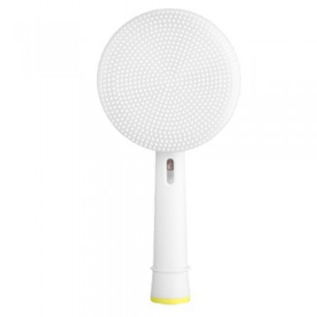 Toocare GW007-P1 Facial Cleansing Brush Βούρτσα Σιλικόνης Καθαρισμού Προσώπου για ηλεκτρική οδοντόβουρτσα (Oral-B/Sonicare) - Λευκό