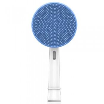 Toocare GW007-P1 Facial Cleansing Brush Βούρτσα Σιλικόνης Καθαρισμού Προσώπου για ηλεκτρική οδοντόβουρτσα (Oral-B/Sonicare) - Μπλε