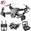 Toysky S173 Αναδιπλούμενο Drone Quadcopter 4K HD με ενσωματωμένη διπλή κάμερα (Μαύρο)