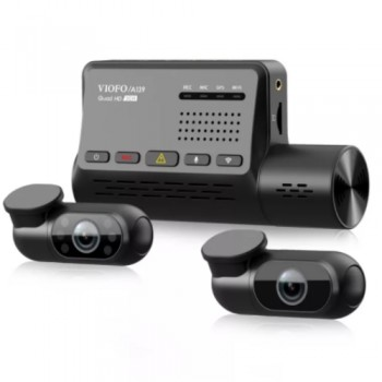 VIOFO A139 3CH 3 Channel Κάμερα Αυτοκινήτου 2K 1440P με GPS και 5GHZ WI-FI