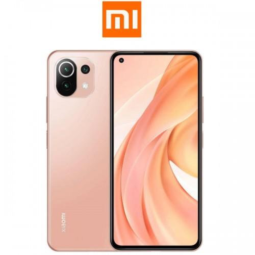 """Xiaomi Mi 11 Lite Global (6.55""""/4G/8πύρηνο/3πλή Κάμερα 64MP+8MP+5MP/6GB-128GB) Peach Pink (Δώρο Ακουστικά)"""