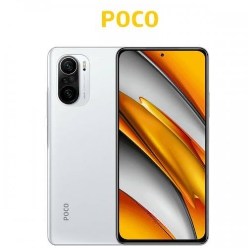 Poco F3 5G Global (Snapdragon 870/6.67''/3πλή Κάμερα 48MP/4520mAh/6GB-128GB) Arctic White