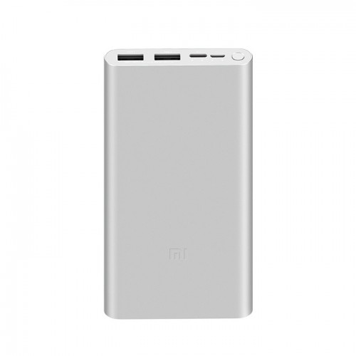 Xiaomi Mi 18W Fast Charge PowerBank 3 10000mAh Ασημί