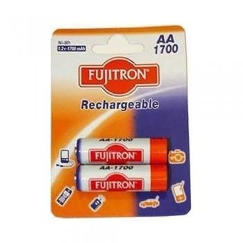 FUJITRON LR6 AA 1700mAh Επαναφορτιζόμενες Μπαταρίες FNMH1700 2τμχ