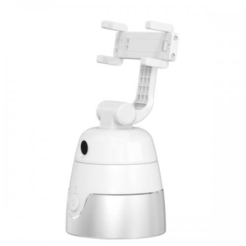 Cleverdog AI Shooting Selfie Stick Βάση Gimbal Κινητού Τηλεφώνου με Ανίχνευση Κίνησης (Personal Cameraman) Λευκή