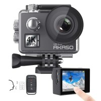 AKASO Action Cam V50 Elite HD (2'' οθόνη-4K/60fps-20MP-Wifi-2 μπαταρίες)