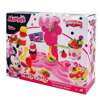 AS Company Παγωτοπλαστελίνα Minnie Ice Cream Maker