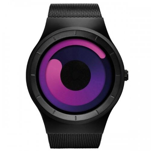 Skone Oldbury 7432 Ρολόι Χειρός (Black Pink)
