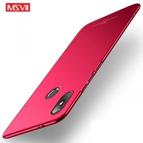 MSVII Ματ Backcover Θήκη (Xiaomi Mi A2) ( Κόκκινη)