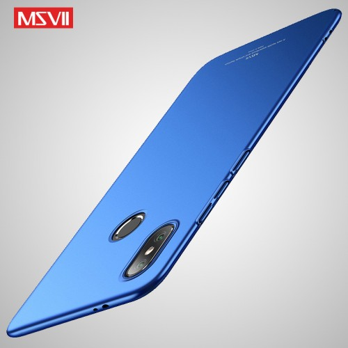 MSVII Ματ Backcover Θήκη (Xiaomi Mi A2) ( Μπλε)